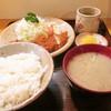 いちかわ - 料理写真:ランチカツ定食