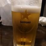 串坊主 - ビール550円