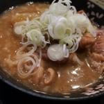 串坊主 - もつ煮380円