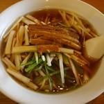 四季紅 - 料理写真:ネギラーメン600円