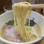 小島流 - 三河屋製麺の細目ストレート。