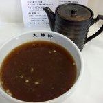 東京 大勝軒 - スープ割