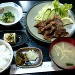 85310579 - 牛焼肉定食1300円