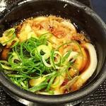 丸亀製麺 - 釜揚げうどんは「ねぎ」と「天かす」をトッピングして食べたら実に旨い!(2018.05.06)