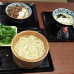 丸亀製麺 - これだけで 計1,720円(2018.05.06)