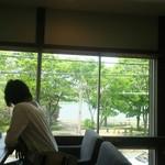カフェ フクバコ - 窓からの眺め