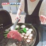 ザ・アミーゴス - 料理写真:豪快に焼き焼き
