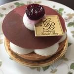 グリンデルベルグ  - チェリーフランが入ったケーキ、これ好き❤️