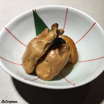 ケブリノ - 牡蠣と帆立の燻製油漬
