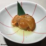 ケブリノ - 牡蠣の下には帆立の燻製油漬