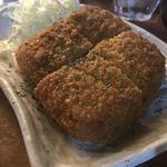 でんすけ商店 - 沖縄で食べたいハムカツ。 肉厚ぶるるるん!!