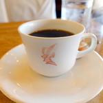 シュベール - トーストモーニングセット(550円)コーヒー一杯おかわり可