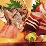 海鮮屋台おくまん - お刺身5種盛 754円