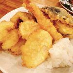 海鮮屋台おくまん - 天ぷら
