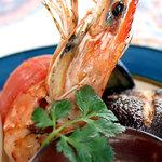 カレー&バイキング アンナプルナ - タンドリープラウン 大海老のタンドリー釜焼き