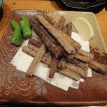 串BAR - ごぼうの天ぷら