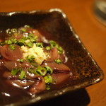 完全個室・夜景一望・美食×肉プレート 七色 - 富山県産 ホタルイカの沖漬け