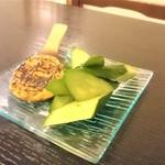 蕎吟 - そば味噌きゅうり