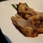 てんぷら 荘司 - 鶏味噌漬け焼き