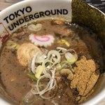 東京アンダーグラウンドラーメン 頑者 - つけめんの濃厚なつけ汁