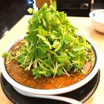神名備 - 【2018年04月】ごまの酸辣麺@2,052円(込)、斜め上から、美しい盛付です。