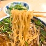 神名備 - 【2018年04月】ごまの酸辣麺、麺アップ。