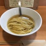 おだしと小麦一三〇 - 平戸産焼きアゴの出汁