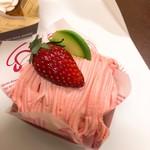 パティスリー カミタニ - 苺のモンブラン(450円)【平成30年5月05日撮影】