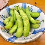 山善うどん - 枝豆