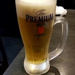 KONDO薬膳しゃぶしゃぶ 小尾羊 - 生ビール