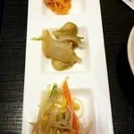 小尾羊 - 前菜3種