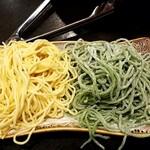 小尾羊 - 2色麺
