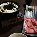 魚と天ぷら 日本酒 まる天 - 陶板、和牛