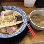 麺匠而今 - 豚と魚のつけ麺(全体)