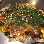 五エ門 - お好み焼き肉玉子入り640円♫