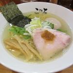 日本橋麺処こはる - ローストえび塩らぁめん 750円