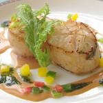 バイキングレストラン カーメル - 海鮮 ホタテ貝柱のポワレ土・日・祝のランチ&ディナー限定