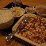 8533605 - 麻婆豆腐定食@500