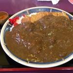 札幌カリーぱお - トンカツ、鳥レッグ、ビーフの肉の三重奏!