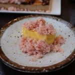 北海道海鮮・個室情緒 ~23番地~ - 本ズワイ蟹のぶっかけ出汁巻き玉子