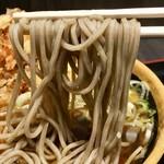 そば処 めとろ庵 - [2018/03]かき揚げ玉子そば(460円)