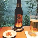 ゼンカフェ - 待ち人こずで、ひとりビール
