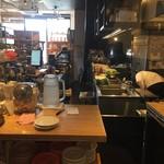 ナガハマコーヒー - 内観3(キッチン)