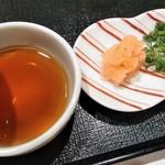 大志満 - [料理] せいろ蒸し用タレ & 薬味