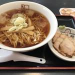 喜多方ラーメン坂内 小法師 - 料理写真:和風冷やしラーメン750円(税込)