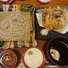 日本そば藪 - 料理写真:江戸せいろ かき揚げ