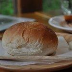 Nicol - スープに付いたパン♪焼き立て