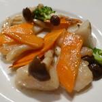 天厨菜館 - 3種海鮮野菜炒め