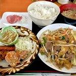 やちむん食堂 - 料理写真:*ふーちゃんぷるーセット(¥780)