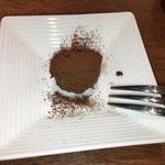 本山 de cafe HARUJI - 生チョコ 飲み物に付いてきました^^